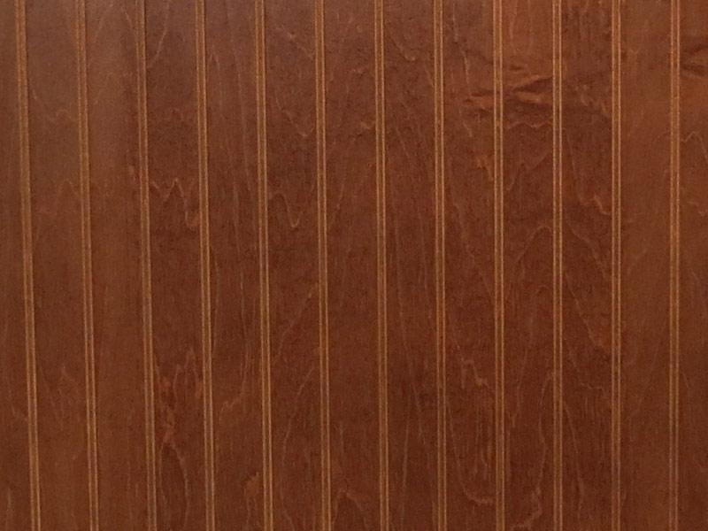 Interior finish walnut a restroom trailer company for Interior finishing company